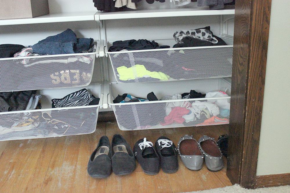 Ikea Algot Closet Transformation