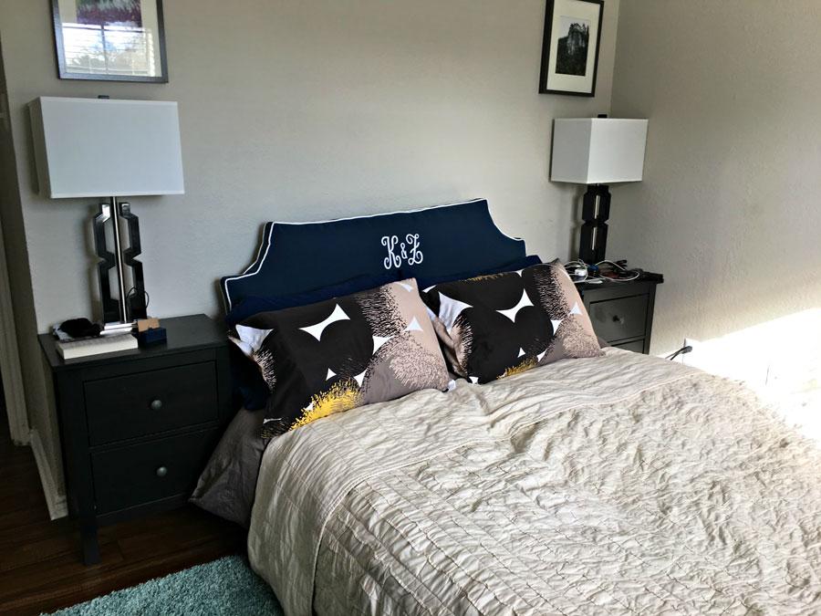 January Cure - Bedroom
