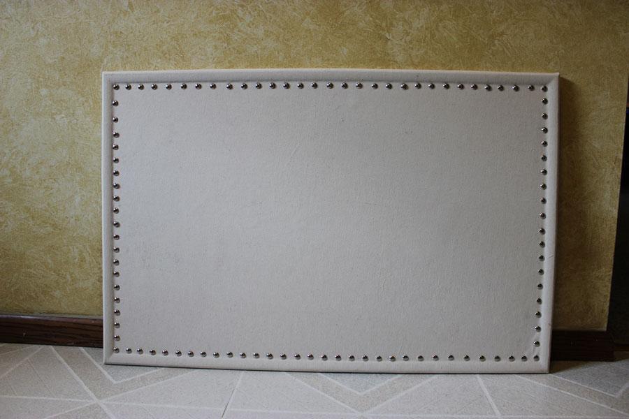 Nailhead Bulletin Board, DIY