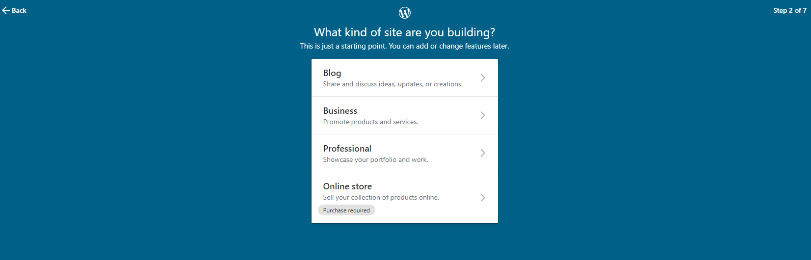 WordPress.com Account Setup 2019