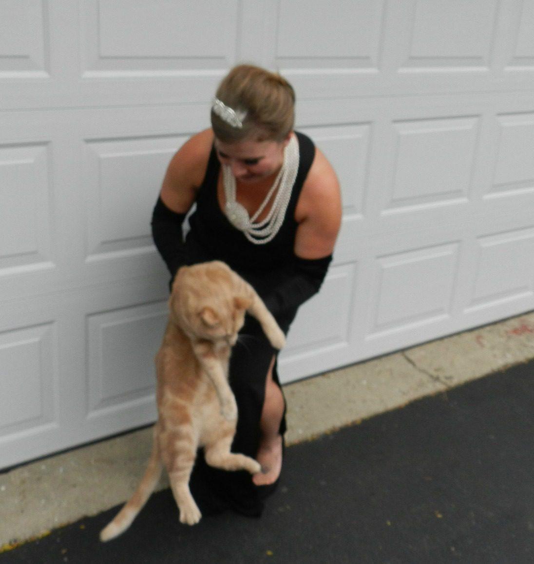 Holly Golightly & Cat