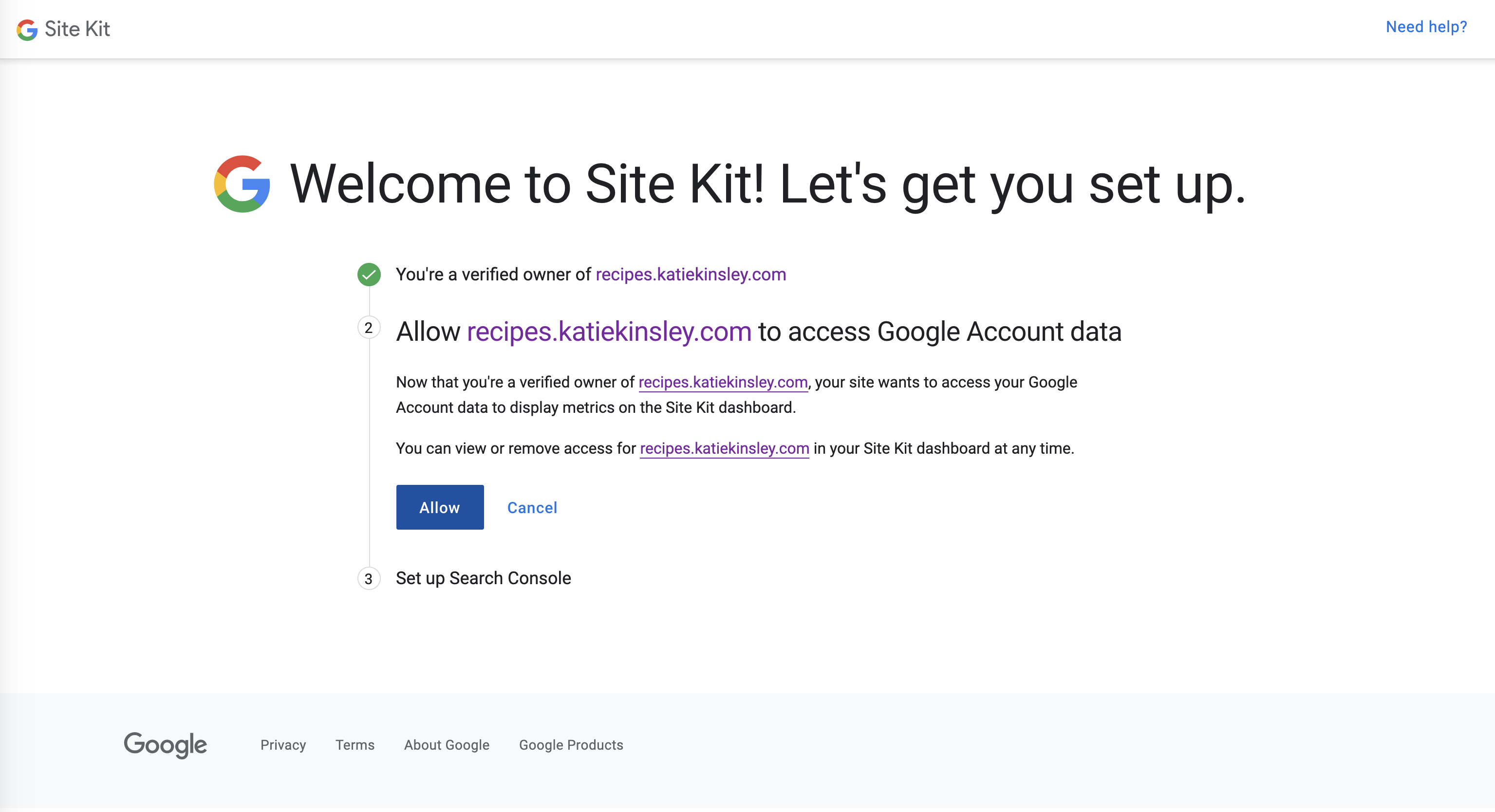 All Domain Access to Google Data