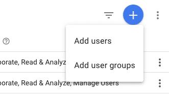 Add A User in Google Analytics