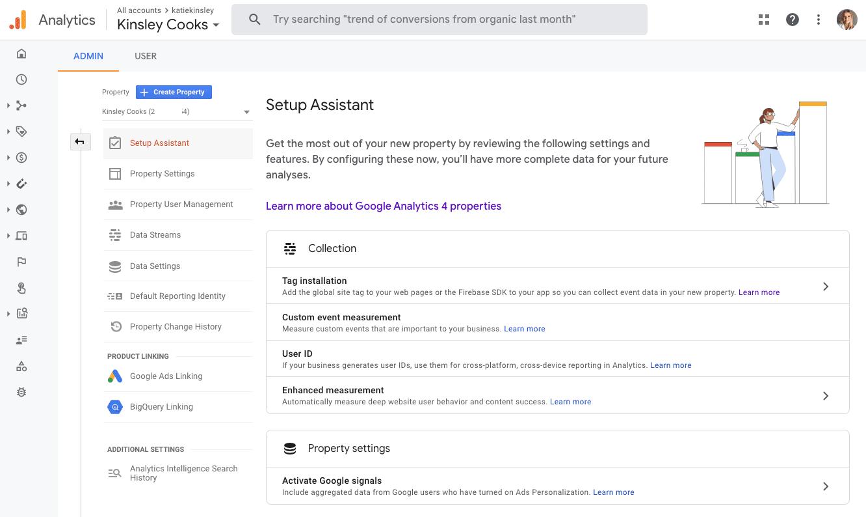 Google Analytics Setup Assistant