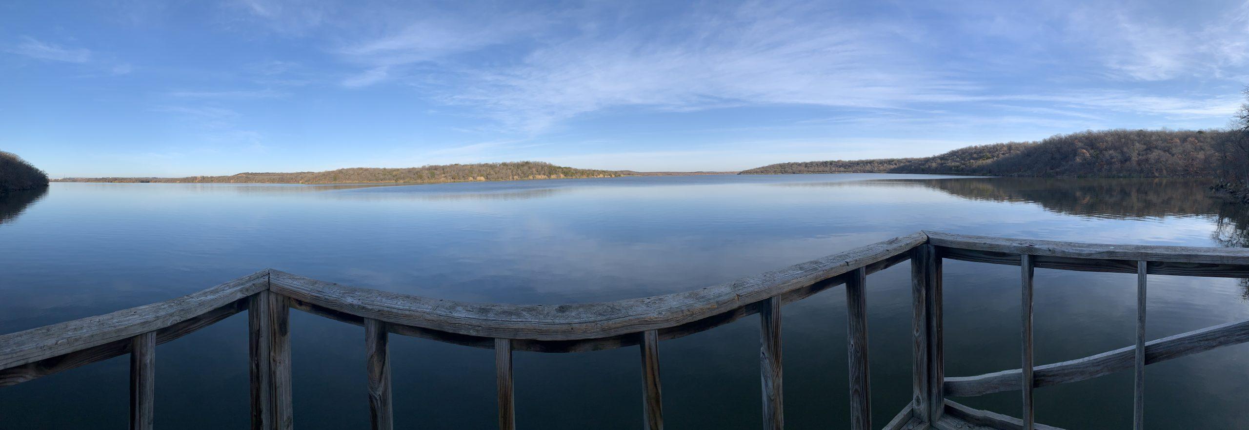 Lake Mineral Wells panoramic