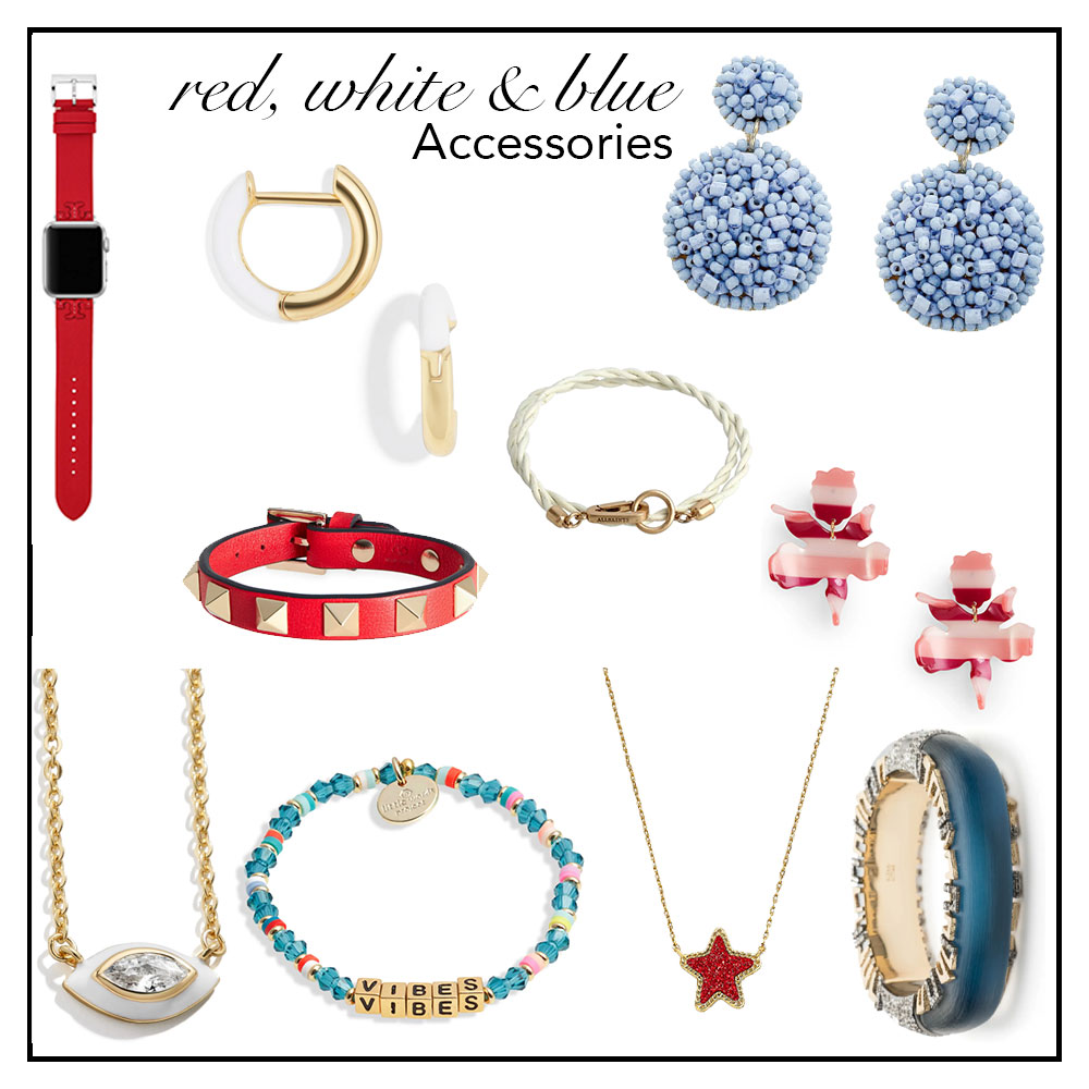 Red White and Blue Accessories