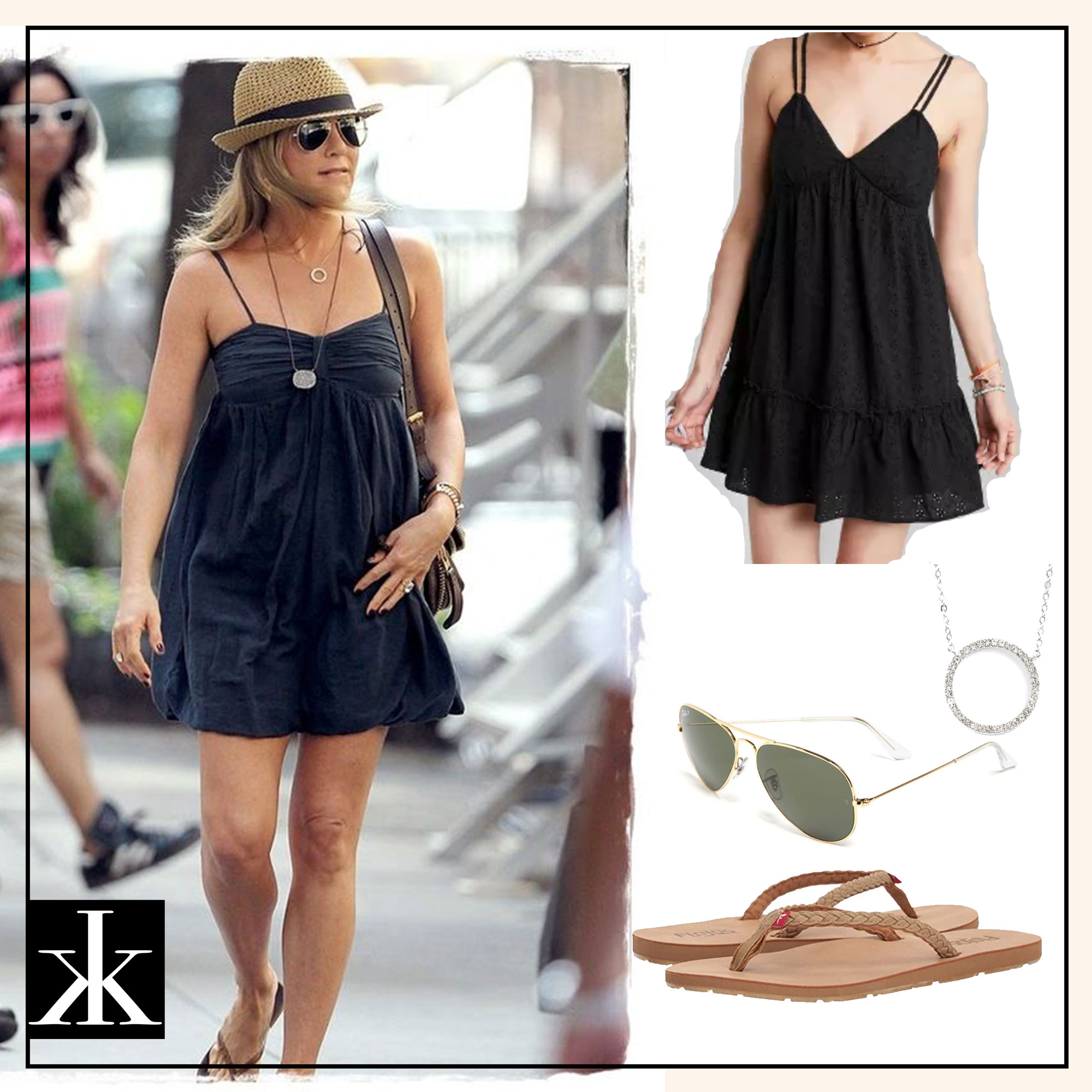 Jennifer Aniston Summer Out Inspiration 4