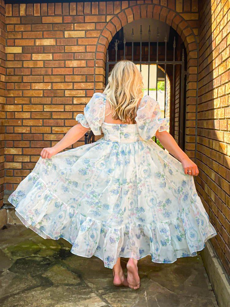 Dallas Dreamhaus Katie Kinsley Selkie Puff Sleeve Dress