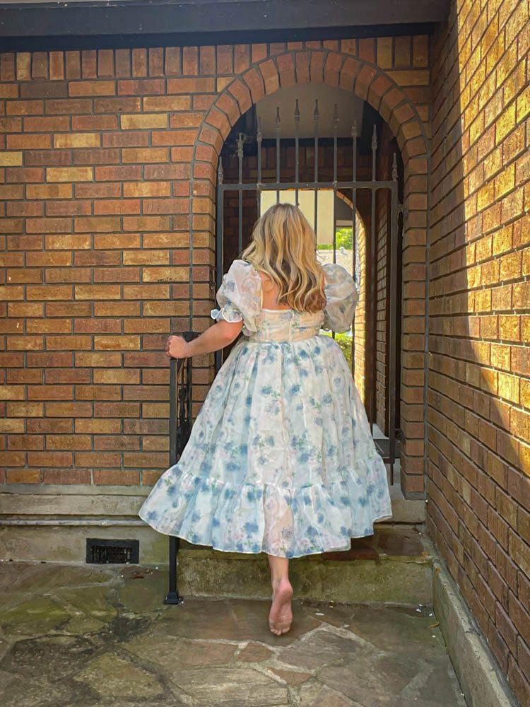 Dallas Dreamhaus vrick back Katie Kinsley Selkie Puff Sleeve Dress