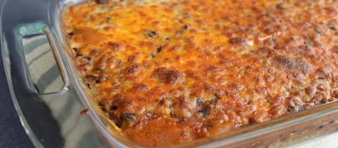 Taco Cauliflower Rice Casserole_8223